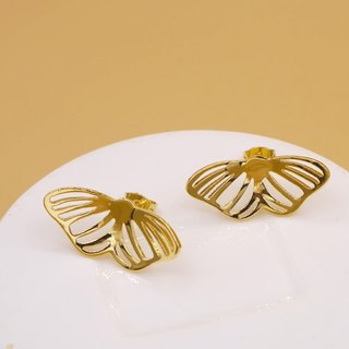 Little Butterfly Earring - 18K gold plated on brass