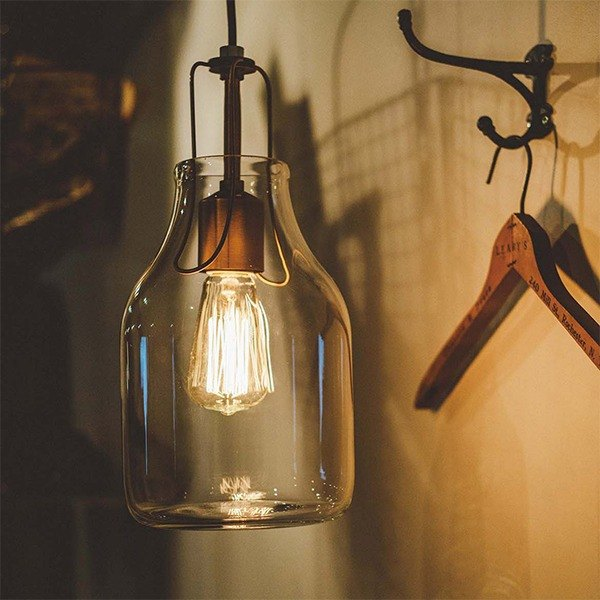 Olite- Olite bottle chandelier
