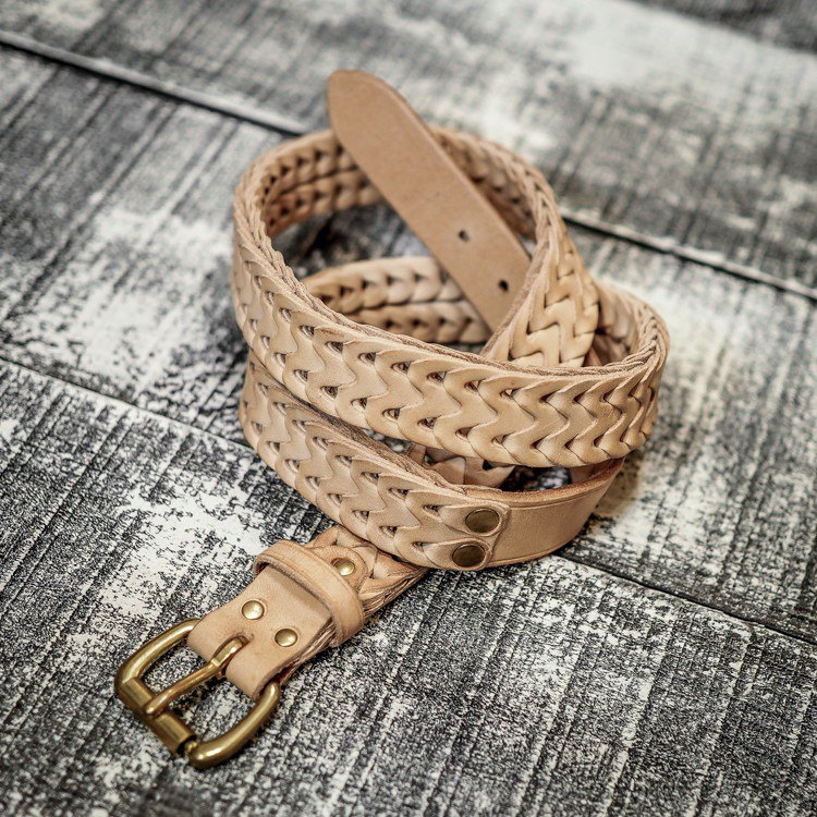HEYOU Handmade – Chained Leather Belt