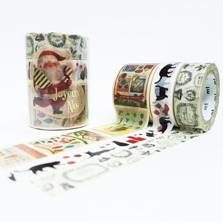 mt Masking Tape Christmas 2018【Set B (MTCMAS89)】