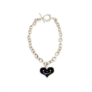 """Heart dream brand"" dream dream metal jewelry series - black smile love bracelet neutral models (male and female general)"