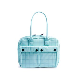 "PEPPER&SALT│POLO Brief 11"" With Transparent TPU (Macaron Aquamarine)"