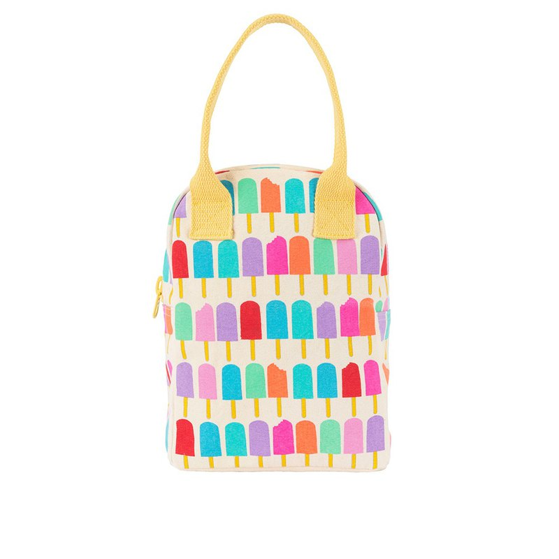 Canadian Fluf Organic Cotton [Zipper with Handbag]--Little Popsicle