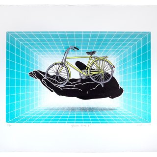 Smooth Ride - the latest print by IdleBeats' founder / print artist Nini Sum