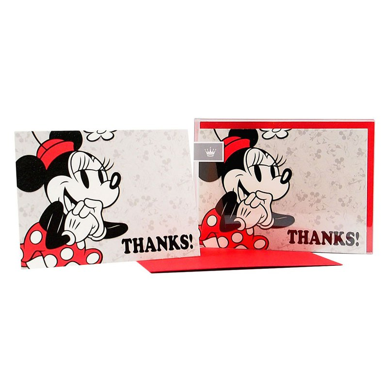 Box Card-Minnie 10 in [Hallmark-Unlimited Thanks Card / Multipurpose]
