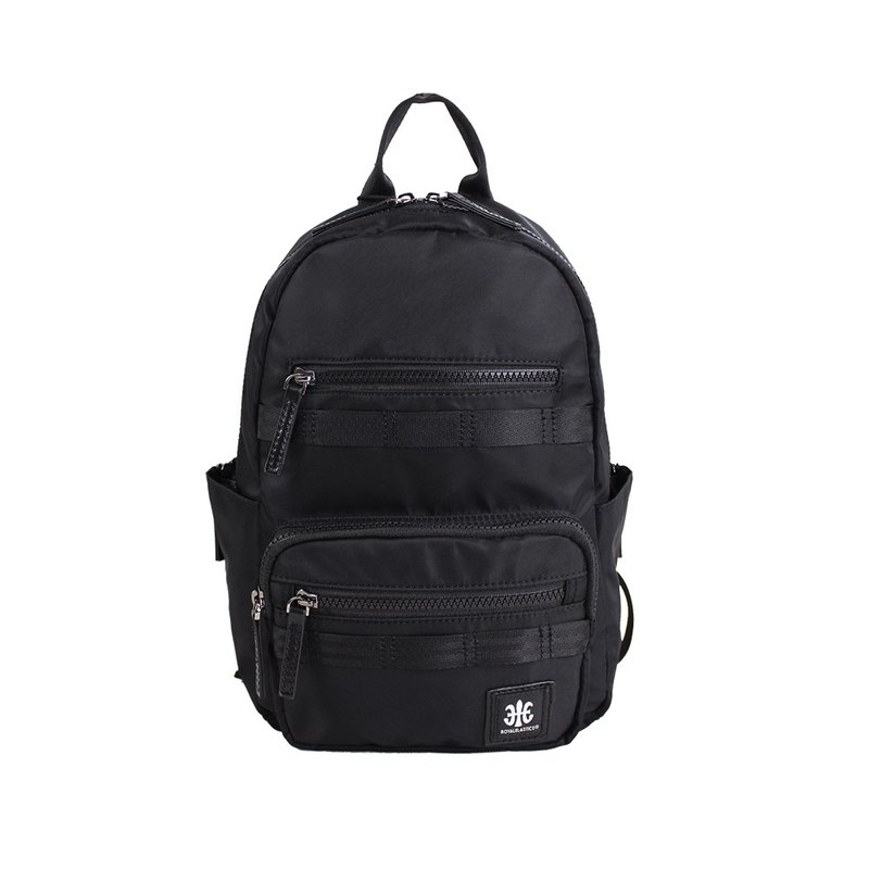 ROYAL ELASTICS - Knight Dark Knight Series Small Backpack - Black