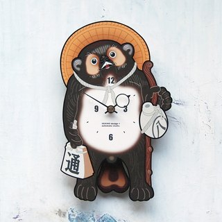 T-01 Raccoon Pendulum Clock