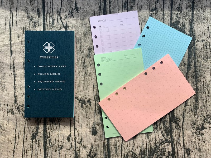 A6 Loose-leaf Notebook Inner Page / 6 Hole Loose-leaf Core / Handheld Inner Core