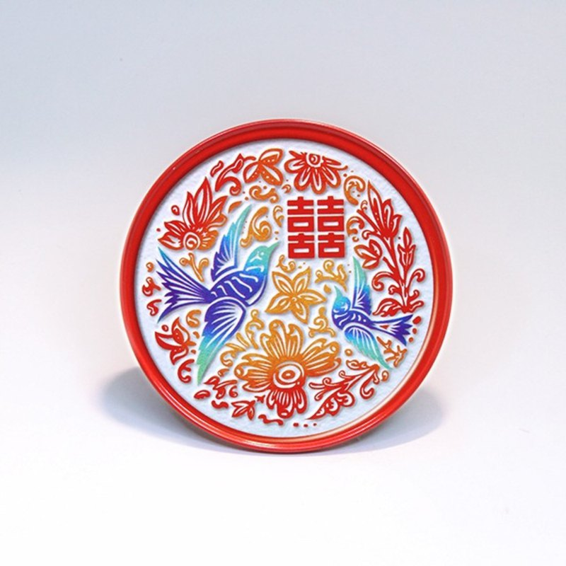 Happy Blue Bird [Taiwan Impression Round Coaster]