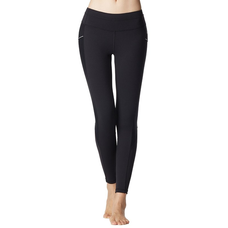 [MACACA] Hip Bone Fixed - 2 Slim Moonlight Cropped Pants - ATE7471 Black
