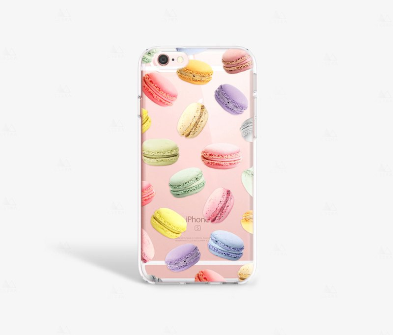 Macaroon iPhone 7 Case Clear Foodie Gift iPhone 8 Case iPhone 7 Plus Clear Case