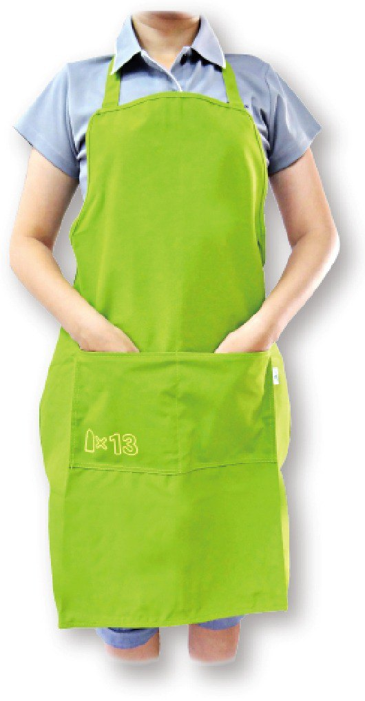 Lace-up apron [Bao Te bottle recycling environmentally friendly fiber fabric]