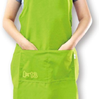 Lace-up apron Apron [Bao Te bottle recycling environmentally friendly fabric]