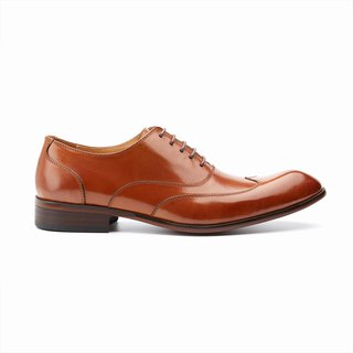 Kings Collection หนังแท้ Hundley Brogue Lace Up Shoes KV80082 สีน้ำตาล