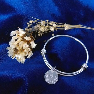 Births ceremony Series / Pure / Silver / bracelet / Màn workers