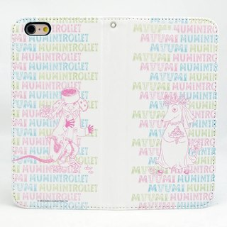 "Moomin Moomin genuine authority - Magnetic phone holster: [Marry Me (white)] ""iPhone / Samsung / HTC / ASUS / Sony"""