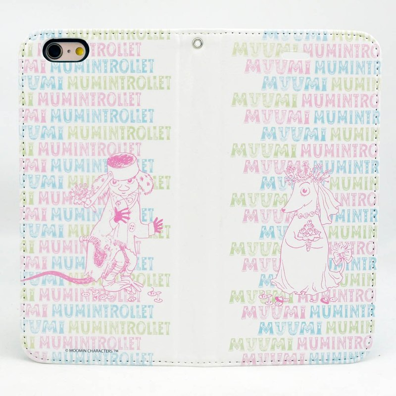Moomin 噜噜 米 Genuine Authorization-Magnetic Phone Holster 【Marry Me】