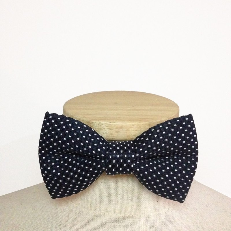 Bow Tie BLACK DOT