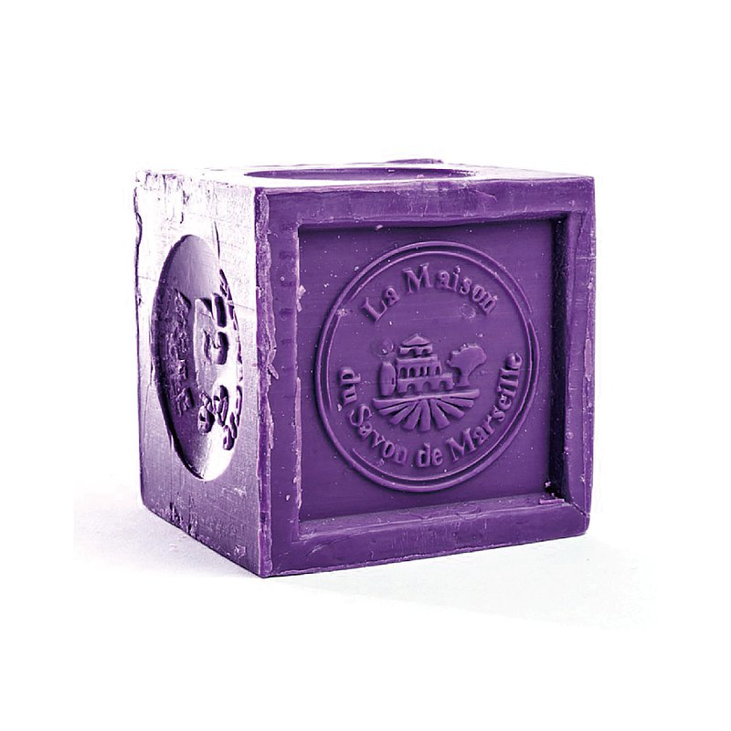 French Marseille Soap House Orthodox Classic Lavender Marseille Soap 300g