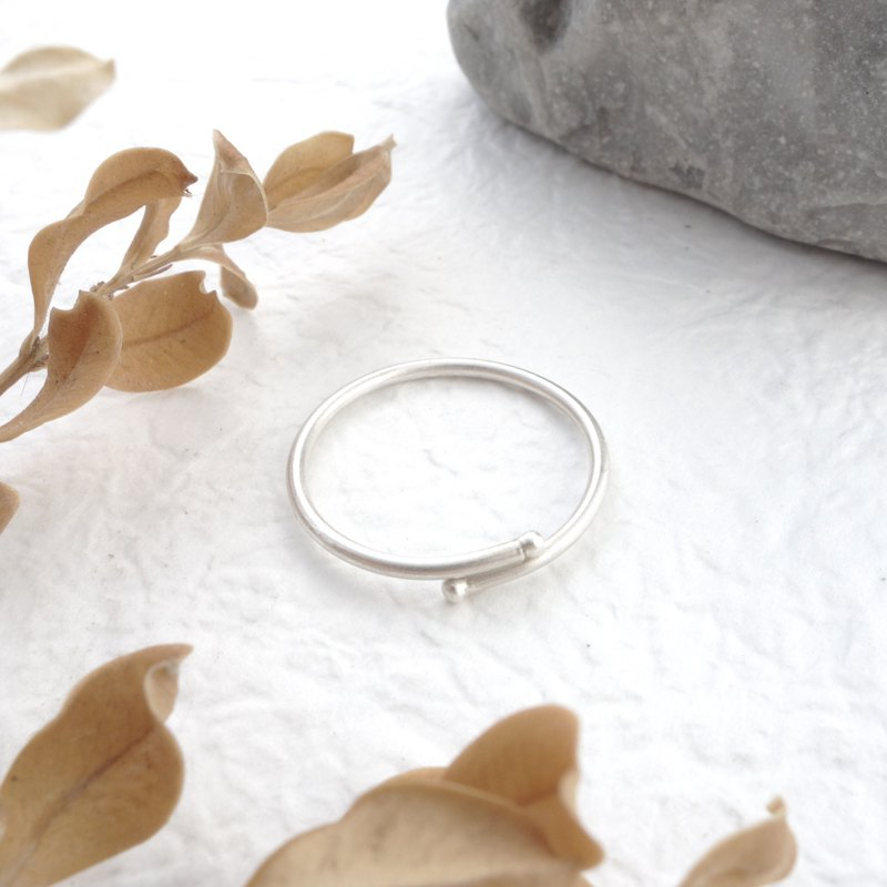 Sterling Silver - Slim Line Ring - Living Surround Design