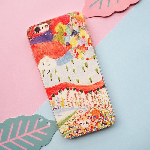 Wonderful dream illustration design original phone shell / all-inclusive fall soft shell protective cover / can be customized