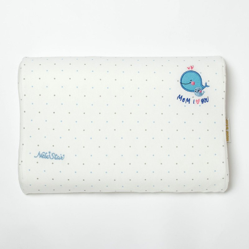 100% Organic Cotton- Organic Cotton Streamline Neck Memory Pillow l Siesta Pillow l Rest Pillow l Pillow