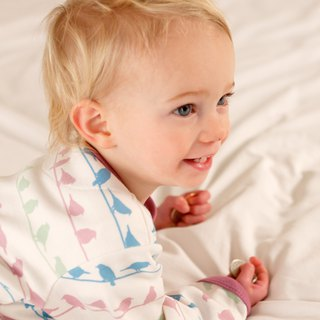 100% organic cotton foundation color birdie jumpsuit made in the UK