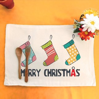 Christmas stockings_W│ Make your table canvas placemat
