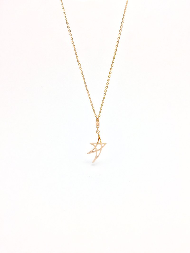 Yi Jewelry - Venus Rose Gold 14K Necklace