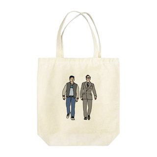 Harry and Eggsy Tote Bag