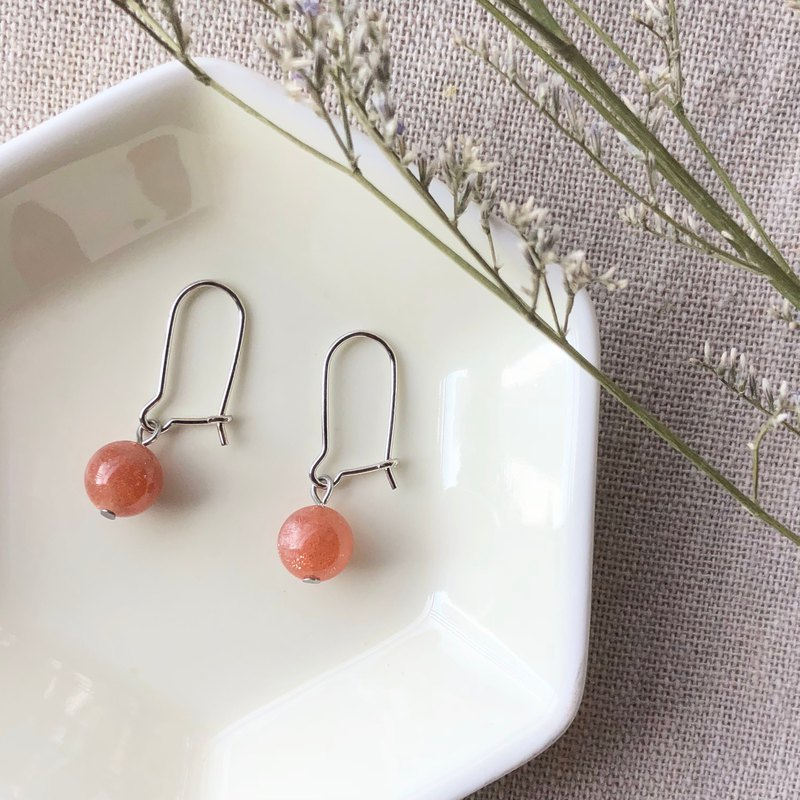 Sunstone Earrings Sunstone Earrings