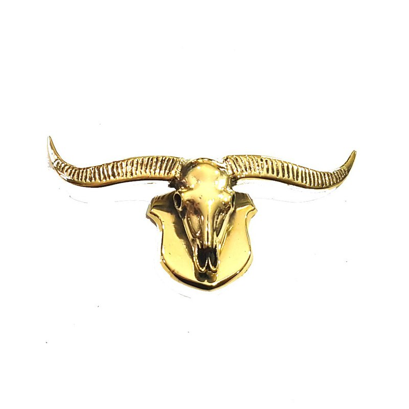 Thai Buffalo Skull Handicraft Magnet
