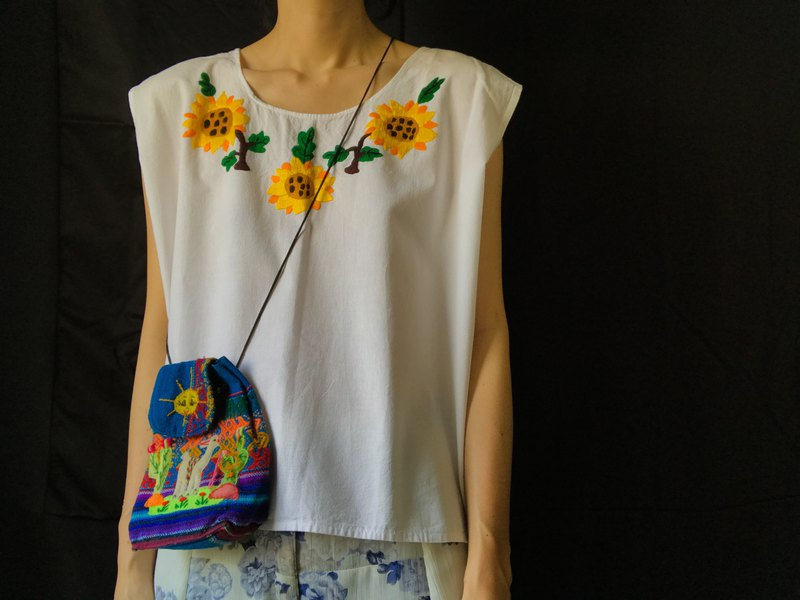 New Handmade Embroidered Top / Sleeveless