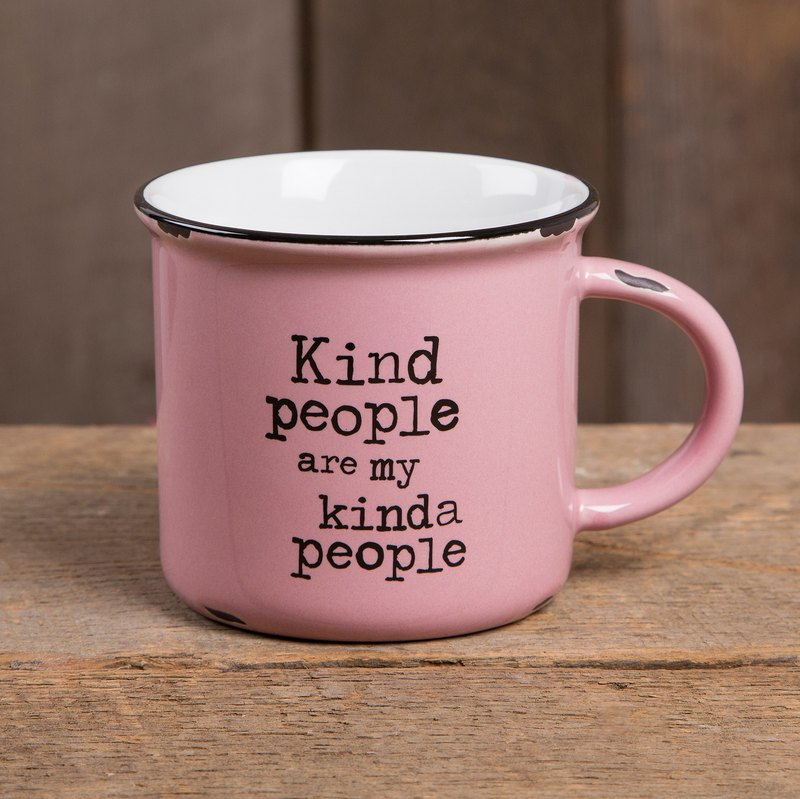 Imitation enamel mug-Kind people∣MUG250