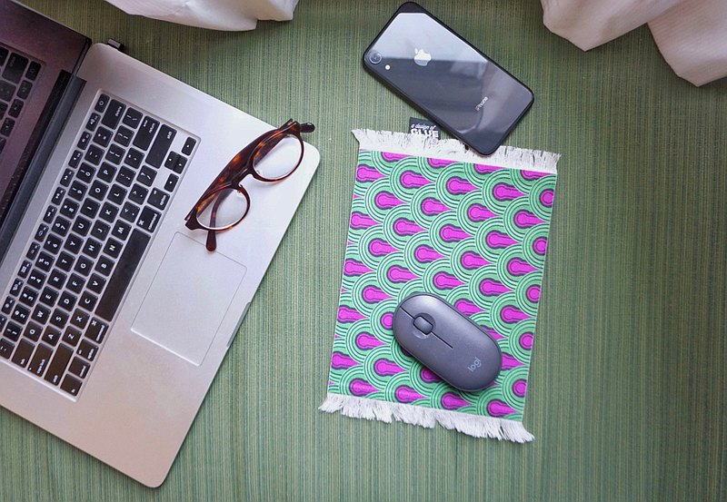 The Concouse Rug / Carpet Mouse Pad