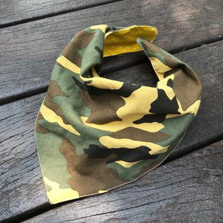 Fashion scarf*camouflage*three-dimensional triangular bib