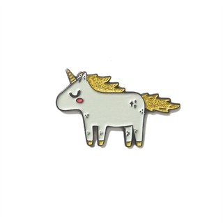 Unicorn Gold Pin