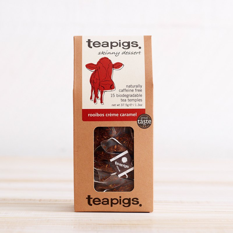 British Tea Bag Teapigs-South Africa National Treasure Cream Caramel Tea