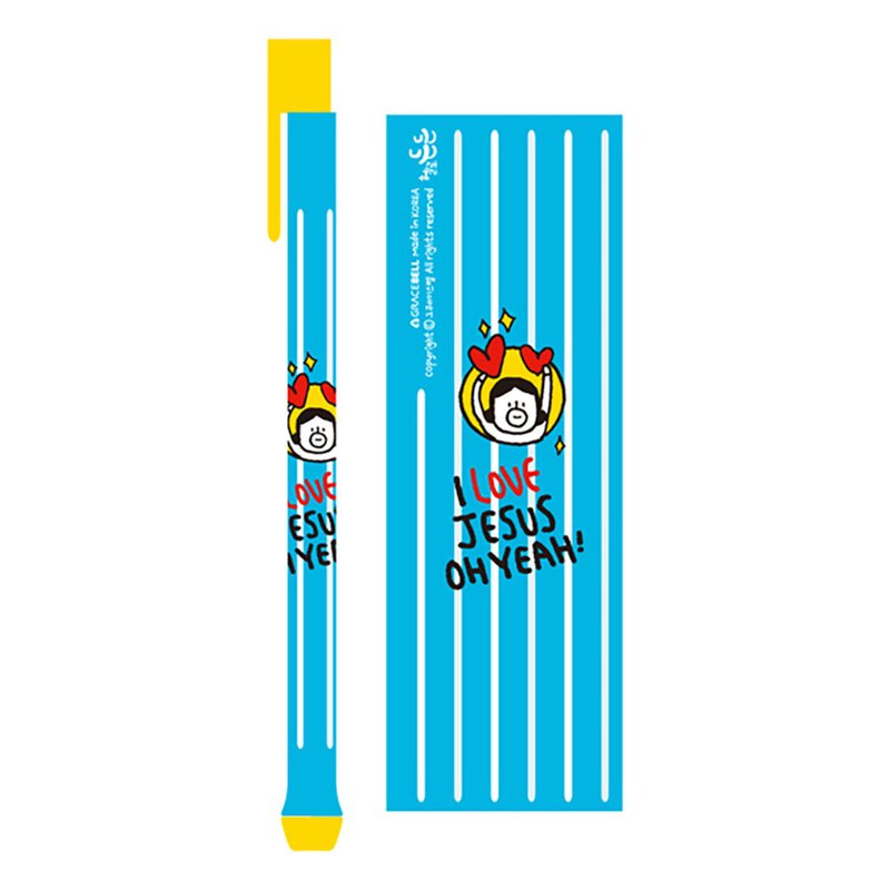 Hello DunDun 啰登登系列Pressing ball pen 01. Happy