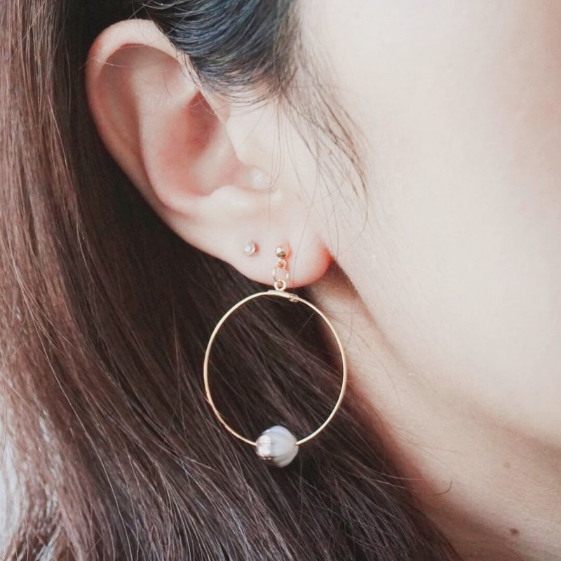 Minimalistic Hoops Earrings