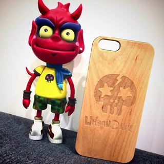 Free shipping Taiwan local wood Muke green CHINGxUrbanDevil stay this evil magic rock skull opening new exclusive customized mobile phone shell iPhone Limited (i5 / s / i6 / s / i6plus / s Samsung S4 / 5/6/7 Note 4/5 SONY Z4 / 5 LG G4 / 5))