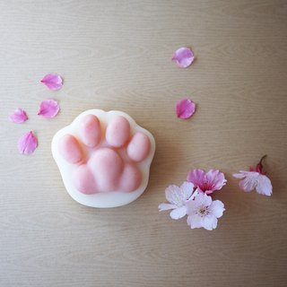 Shea Butter Cat Paw Soap (For Body) - sakura(Cherry Blossoms)