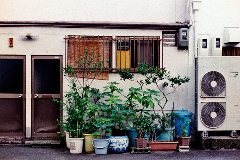 Film Photography Postcard - Alleyway Series - Japanese Alleyway