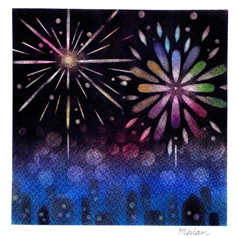 Harmony Pastel Experience Class - 璀璨 Fireworks - September Sunday afternoon class
