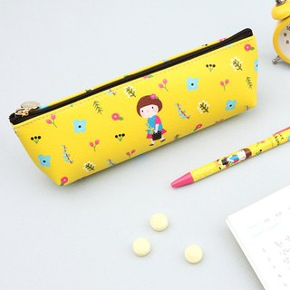 Hello Jane Pencil Box 03. Yellow Love can