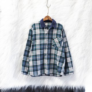 Fukushima spelling classic fallen plaid weekend love day antique cotton shirt jacket coat vintage