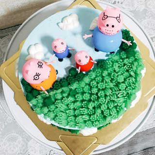 GJ private dim sum maker cake cake preferred pure handmade 8吋