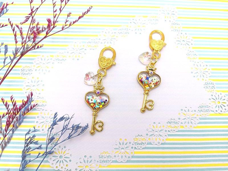 包與鑰的事 日系感 清淨心靈的鑰匙 手作樹脂 鑰匙圈