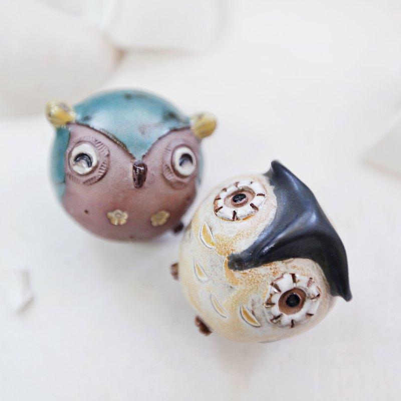 【Pinkoi 獨家禮盒】貓頭鷹  | 擺件