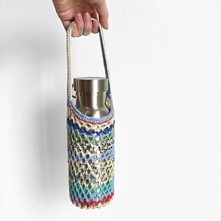 Crochet _ Cave Drink Bag _ Lake Light
